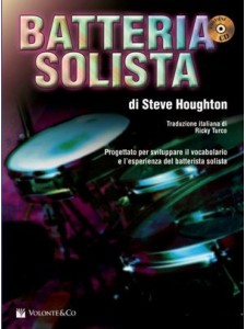 Batteria Solista (libro/CD) Italiano