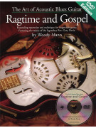 The Art of Acoustic Blues Guitar: Ragtime & Gospel (book/DVD)