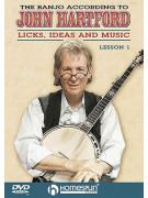 The Banjo According: Licks, Ideas & Music Vol.1 (DVD)