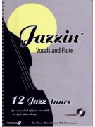 Jazzin': Vocals & Flute (book/CD play-along)