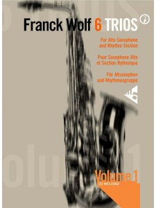 6 Trios for Alto Sax & Rhythm Section 1 (book/CD play-along)