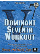 Aebersold 84 - Dominant Seventh Workout (book/2 CD)