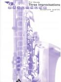 Three Improvisations - Saxophone Quartet
