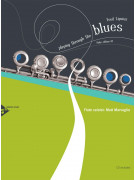 Playing Through the Blues: Flute (book/CD play-along)