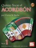 Quiero Tocar El Acordeon (Book/CD)