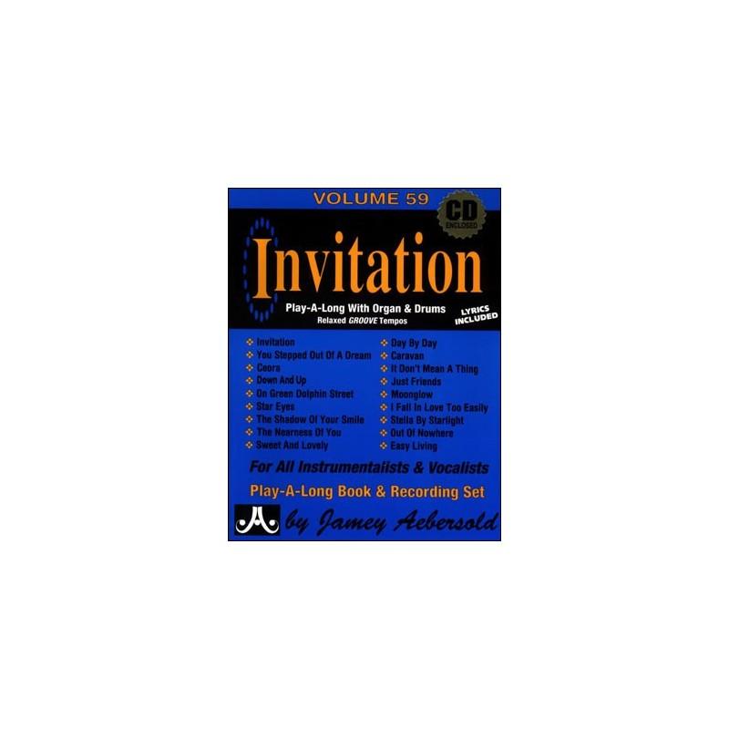 Aebersold 59 invitation book2 cd birdland shop aebersold 59 invitation book2 cd stopboris Image collections