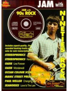 Jam With Nineties Rock (book/CD play-along)