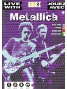Live With Metallica (book/2 CD play-along)