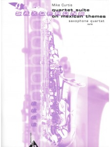 On Mexican Themes-sax quartet