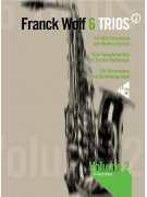 6 Trios for Alto Sax & Rhythm Section 2 (book/CD play-along)