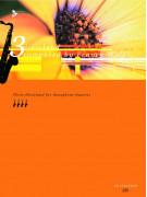 3 Dixieland for Saxophone Quartet (book/CD play-along)