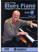 Learn to Play Blues Piano 1: A Beginner's Guide To Improvisation (DVD)