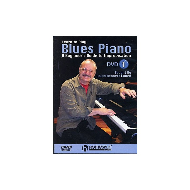 Learning Blues Piano From Music Score: Learn To Play Blues Piano Dvd, Guide To Improvisation DVD