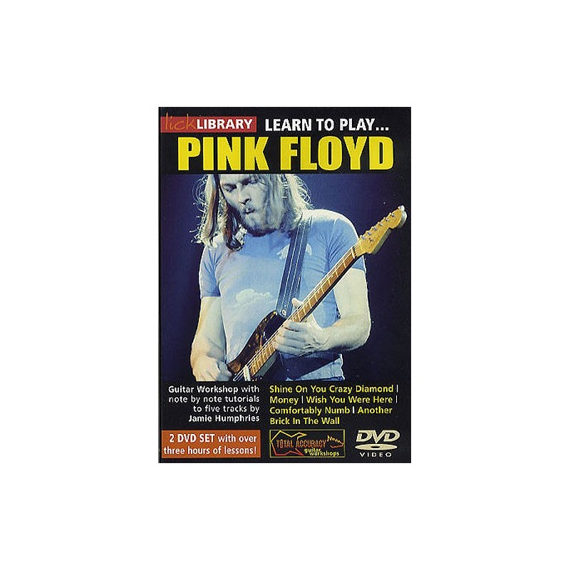 Simply Lick library jam with pink floyd consider