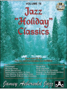 Jazz Holiday Classics (book/CD play-along)