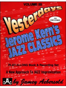 Yesterdays Jerome Kern's Jazz Classics (book/CD)