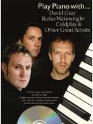 Play Piano With... David Gray, Rufus Wainwright (book/CD)