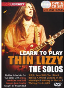 Lick Library: Learn To Play Thin Lizzy - The Solos (DVD)