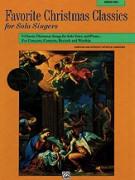 Favorite Christmas Classics for Solo Singer: Medium Low Voice (book/CD)