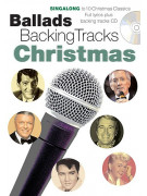 Ballads Backing Tracks: Christmas (book/CD sing-along)