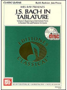 J. S. Bach in Tablature (Book/CD)