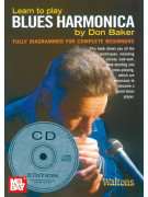 Learn to Play Blues Harmonica (book/CD)