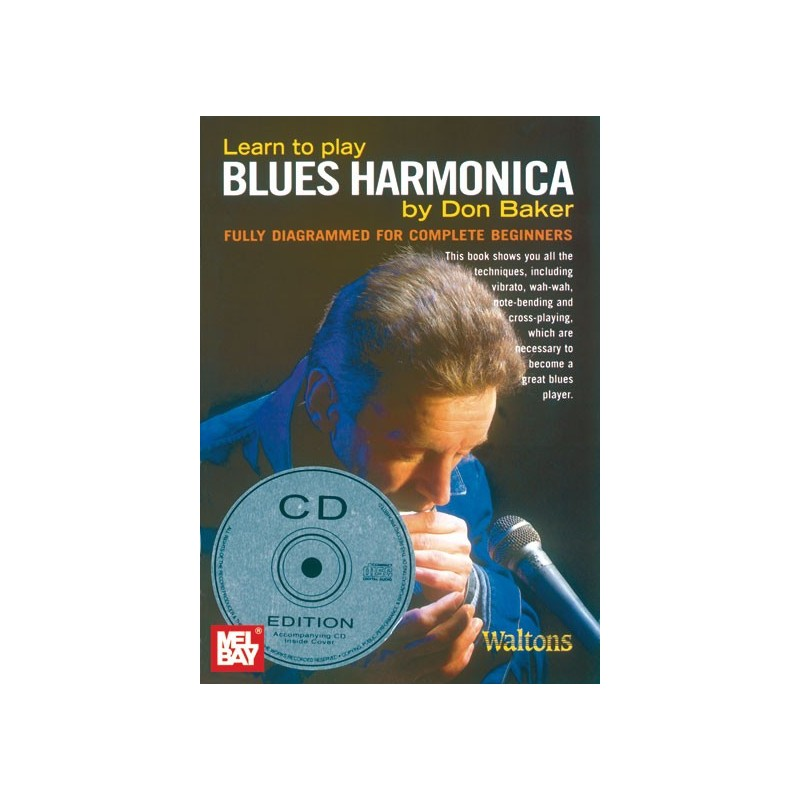 Learn Harmonica Book
