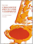 Crossover Pieces for Saxophone (book/CD)