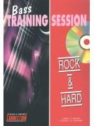 Bass Training Session: Rock & Hard (book/CD play-along)