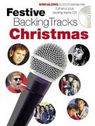 Festive Backing Tracks: Christmas (book/CD sing-along)