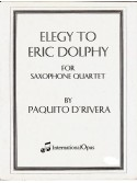 Paquito D'Rivera — Elegy to Eric Dolphy