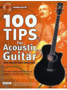 100 Tips For Acoustic Guitar (book/CD)