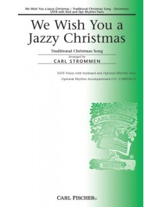 We Wish You A Jazzy Christmas (choral)