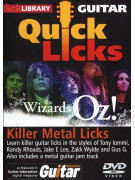 Lick Library: Quick Licks - The Wizards Of Oz! Killer Metal Licks (DVD)