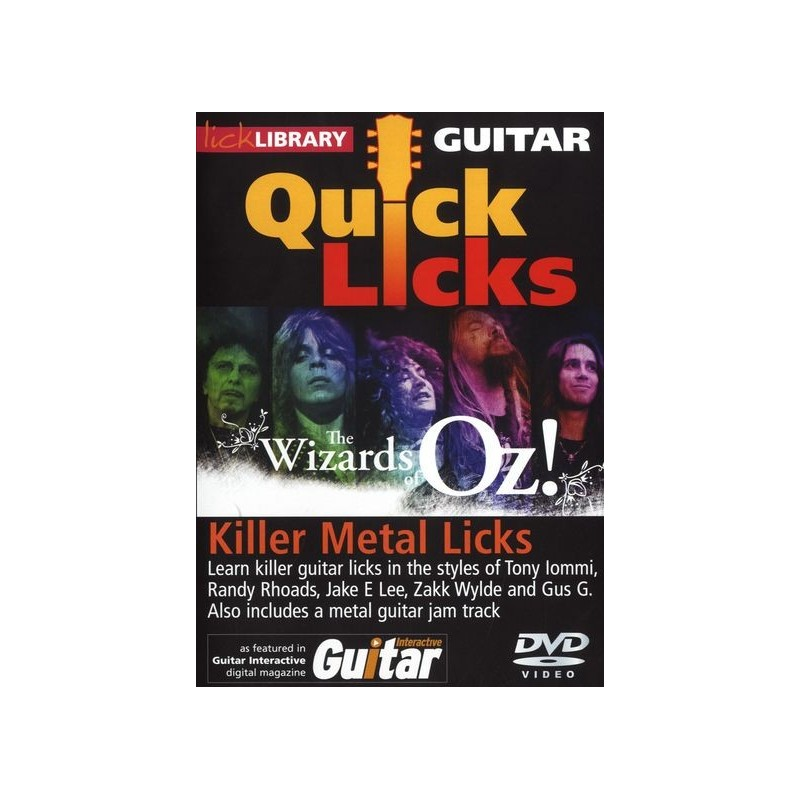 Almost Lick library killer guitar something is
