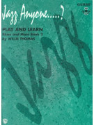Jazz Anyone... ? Play and Learn Guitar, Book 2 - Blues & More (book/2 CD)