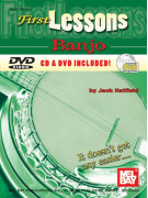 First Lessons Banjo (book/CD/DVD)