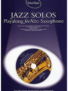 Guest Spot: Jazz Solos Playalong for Saxophone (book/CD)