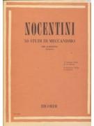 50 studi di meccanismo per clarinetto