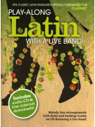 Play-Along Latin With A Live Band for Clarinet (book/CD)