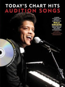 Audition Songs For Male Singers: Today's Chart Hits (book/CD)