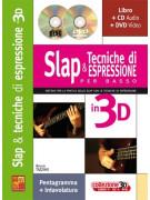 Slap & tecniche di espressione per basso in 3D (libro/CD/DVD)