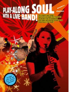 Play-along Soul with a Live Band Clarinet (book/CD)