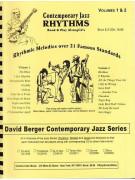 Contemporary Jazz Rhythms for Guitar 1&2 (book/2 CD)
