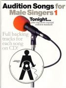 Audition Songs For Male Singers - Tonight (book/CD sing-along)