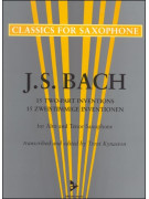 J.S. Bach - 15 2-Part Inventions for Alto & Tenor Sax