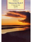 Novello Manuscript Book 8 - A4 (Spiral Bound)