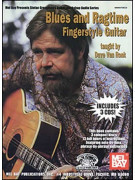 Blues and Ragtime Fingerstyle Guitar (book/3 CD)
