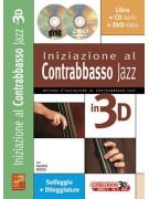 Iniziazione al contrabbasso jazz in 3D (libro/CD/DVD)