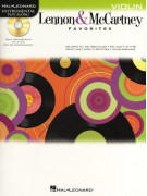 Lennon & McCartney Favorites Violin (book/CD)